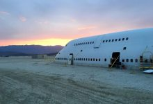 747 op Burning Man