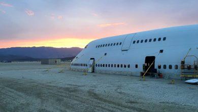 747 op Burning Man