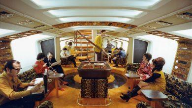 747 Lower Deck Lounge ©Boeing