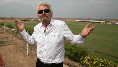 Photo of Richard Branson viert twintig jaar vluchten naar Zuid-Afrika – foto's