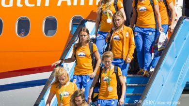 Photo of Olympische medaillewinnaars geland op Schiphol | Foto's
