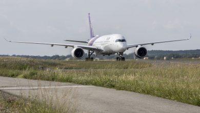 Photo of Eerste Thai A350 aangekomen in Brussel – foto's