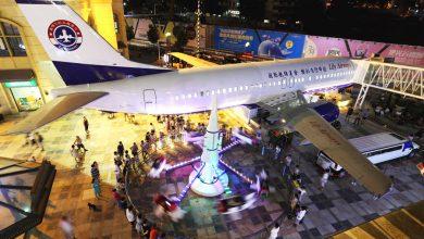 Photo of Chinese 737 omgebouwd tot restaurant
