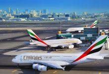 Drie A380's op Dubai ©Emirates