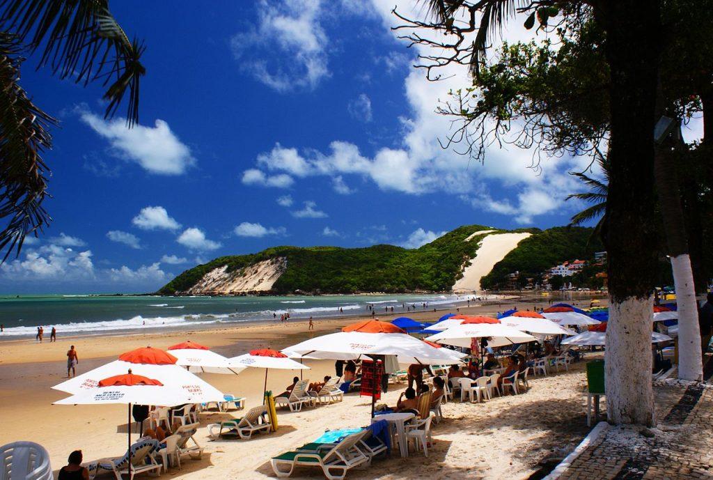 Het strand van Ponta Negra, in de buurt van Natal ©Ricardo