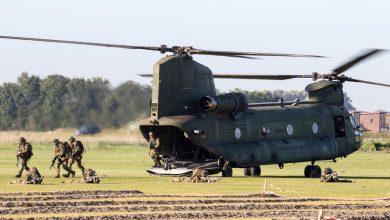 Photo of Defensie oefent bij Twente Airport