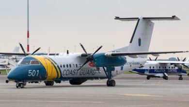 Photo of Kustwacht ontvangt buitenlandse toestellen op Schiphol
