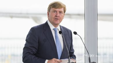 Photo of Teruglezen: speech koning over Schiphol