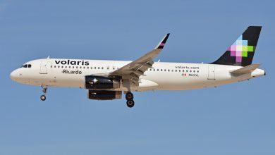 Photo of A320 Volaris onderschept op eerste vlucht