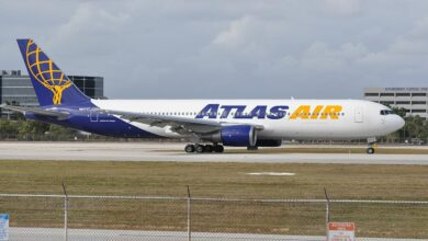 Photo of Boeing 767 van Atlas Air maakt voorzorgslanding op Honolulu na motorstoring