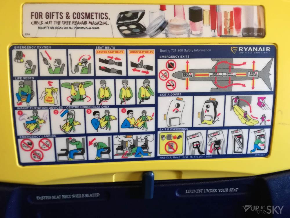 Ryanair's safetycard