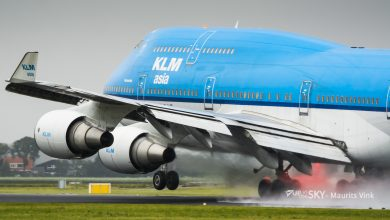 Photo of Moment van botsing KLM 747 en hooglader | Video