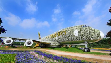 Photo of Emirates onthult bloemen-A380 – video