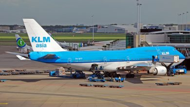 Photo of KLM zegt vaarwel tegen 747 'Paramaribo'