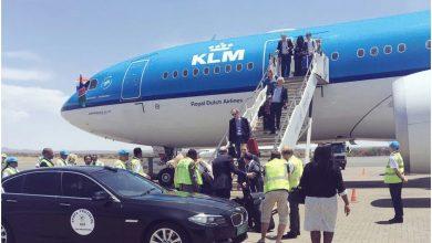 Photo of KLM voor het eerst in Windhoek – foto's