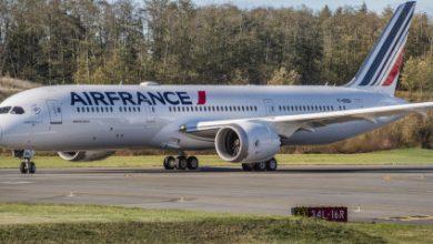 Photo of 'Air France 787 aan de grond door dwarsliggende piloten'