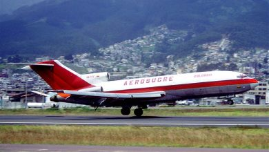 Photo of Boeing 727 crasht in Colombia – video
