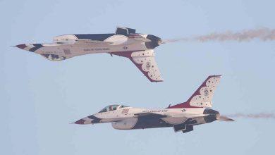 Photo of F-16 gecrasht van USAF Thunderbirds