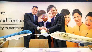 Photo of KLM-ceo Pieter Elbers: Delta is het doel