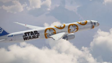 Photo of Star Wars-vliegtuig op Frankfurt Airport