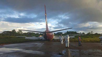 Photo of 737 remt te laat tijdens landing – Foto's
