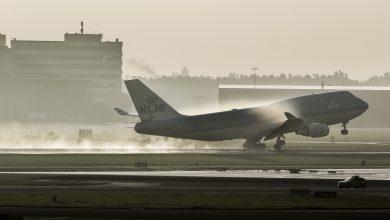Photo of Zelfde KLM 747 voor vierde keer gestrand