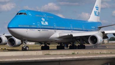 Photo of KLM 747 wijkt uit naar IJsland