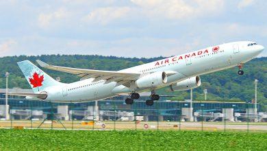 Photo of Klapbanden Air Canada A333 na afgebroken start Brussel
