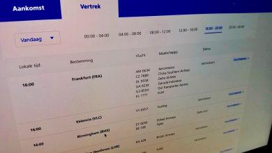 Photo of Schiphol site toont actuele vluchten tot week vooruit