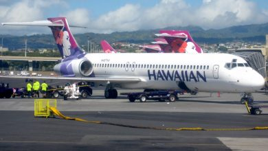 Photo of Bijna-botsing Hawaiiaanse B717 met Cessna