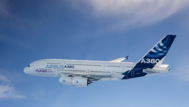 Photo of A380 aangekomen op laatste rustplaats – video