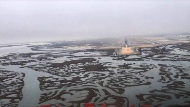 Photo of Timelapse: cockpit landing Faro Airport   Video