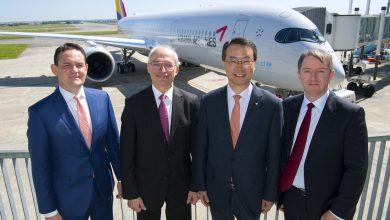 Photo of Eerste A350 voor Zuid-Korea