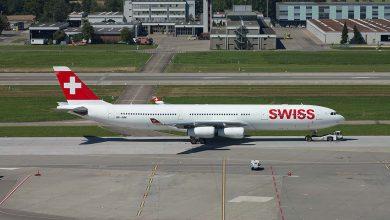 Photo of Swiss A340 naar Twente