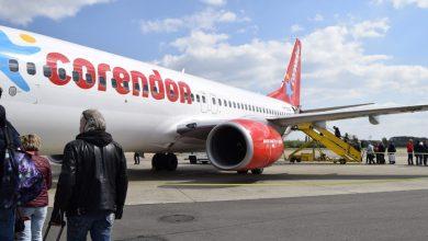 Photo of Vlaai en water voor Corendon op Maastricht Airport