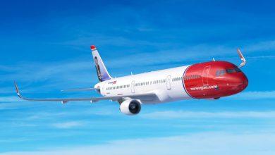 Photo of Norwegian stelt levering Airbus-toestellen uit