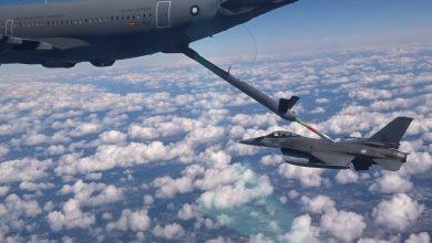 Photo of Airbus tankt F-16 voor het eerst automatisch bij