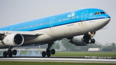 Photo of KLM stalt 12 vliegtuigen op Groningen Airport