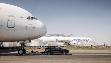 Photo of Porsche trekt A380 | video