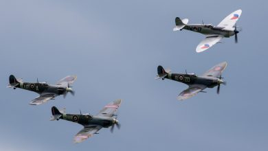 Photo of Spitfires geven spectaculaire show in Dover | Video
