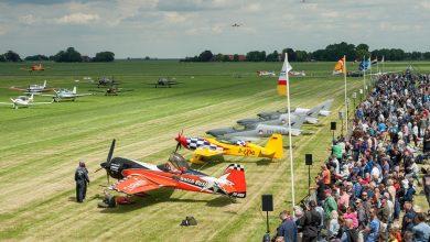 Photo of Spitfires publiekstrekker op Oostwold Airshow