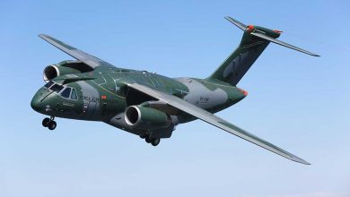 Embraer KC-390 first flight. /Embraer