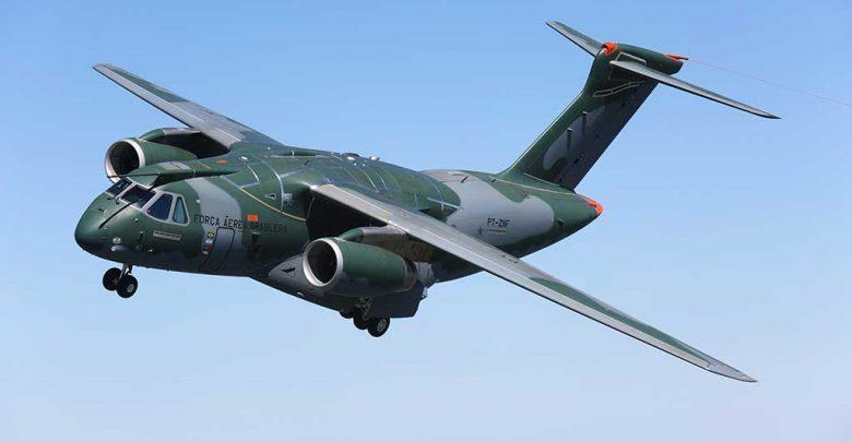 Embraer KC-390 first flight. /Embraer
