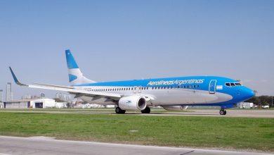 Boeing 737-800 de Aerolíneas Argentinas en Aeroparque Jorge Newbery en Buenos Aires, Argentina. / Matis18