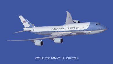 Photo of Trump toont zijn ontwerp van nieuwe Air Force One