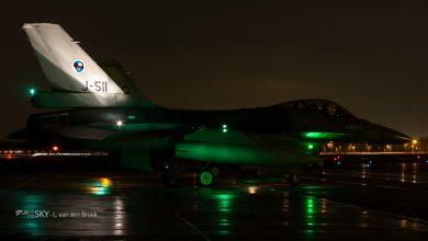 Photo of Luchtmacht oefent avondvliegen