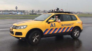 Photo of De vliegende airport operations officer