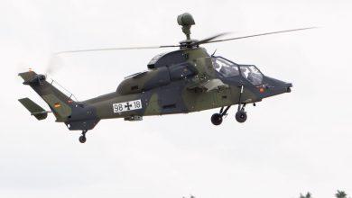 Een Tiger helikopter van de Duitse luchtmacht - ©Julian Herzog
