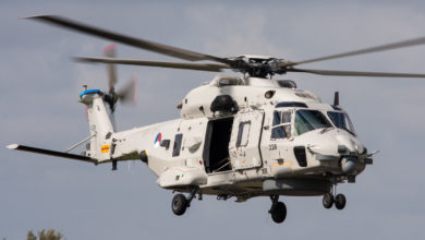 Photo of Gecrashte NH90-helikopter geborgen in Curaçao
