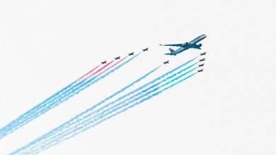 Photo of Qatar viert verjaardag met luchtshow